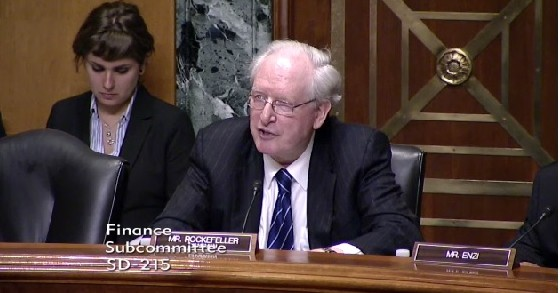 U.S. Senator Jay Rockefeller said Tuesday CHIP is generally better than ACA in many ways.