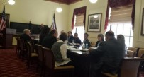 The 12-member panel held its first meeting Monday.