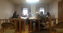The Zoning Board of Appeals looks over the ordinance sent to them by council
