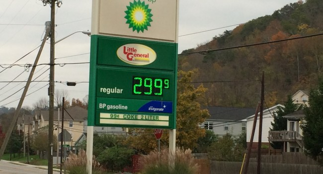 Gas Prices In West Virginia >> Wvmetronews West Virginia Gas Prices At 4 Year Low
