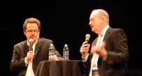 Dennis Miller, left, and Bill O'Reilly make stops across the U.S. and part of their Bolder & Fresher tour.