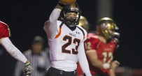 Class AAA No. 6 South Charleston defeated No. 3 University 24-20 in the quarterfinals of the playoffs.