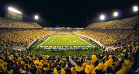 Milan Puskar Stadium in Morgantown.