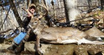 Grant Harsh started hunting this buck in 2012 and finally got him this year.