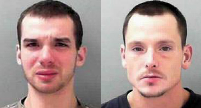 Shane Marcum, left, and Willie Messer have both been charged with robbery and murder.