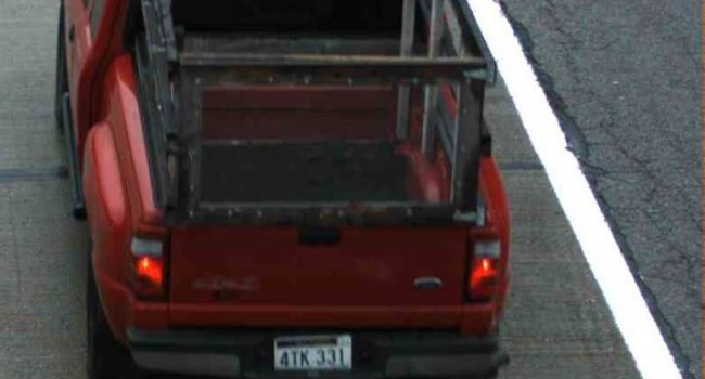 State troopers are looking for this truck belonging to Roland Stafford, who was found dead Monday.