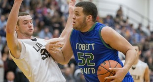 Robert C. Byrd improved to 8-4 on the year with a 59-52 win over Lincoln (11-2) on Tuesday night.
