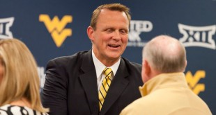 West Virginia athletics director Shane Lyons hopes to resume the football and basketball series against Pitt.