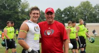 Reese Donahue won MVP honors last summer at a Top Gun camp, which set his recruiting into motion.