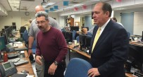 Gov. Earl Ray Tomblin received a briefing Wednesday evening.