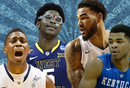 Fifth-seeded West Virginia tries to stop Kentucky's bid for history tonight at The Q in Cleveland.