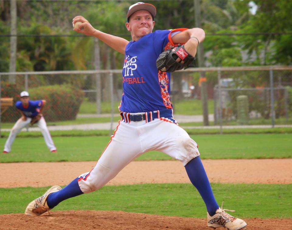 Nitro freshman pitcher Levi Kelly has received national recruiting attention early in his high school career.