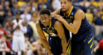 Gary Browne and Juwan Staten
