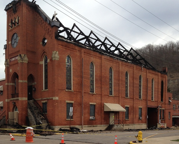 wv metronews marshall county church to be rebuilt after fire
