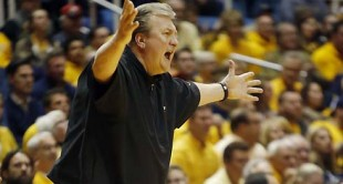 As animated as Bob Huggins can be arguing calls, he admits his West Virginia team needs to curb its penchant for fouling.