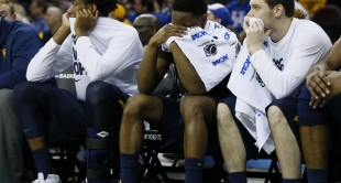 Juwan Staten and West Virginia suffered a frustrating end to their season, losing 78-39 to Kentucky in the Sweet 16.