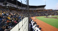 Nearly 7,000 fans attended last weekend's series sweep of Butler at the Monongalia County Ballpark.
