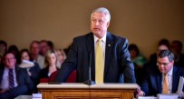 State Senate President Bill Cole addressed the new tax reform committee Monday at the state capitol.