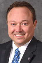 Senate Majority Whip Daniel Hall (R-Wyoming, 09)