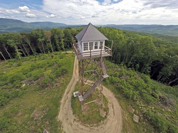 Wv Metronews Old Fire Tower Now Available For Overnight Stay