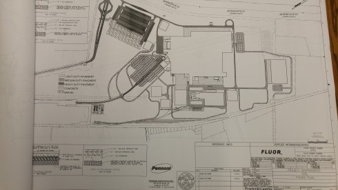 Procter & Gamble's preliminary plan has been submitted to Berkeley County planners.