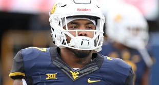 West Virginia running back Rushel Shell looks to continue his rushing success during the Mountaineers game against Texas on Saturday at Milan Puskar Stadium in Morgantown, W.Va.