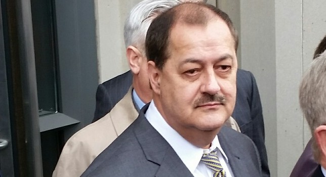 Don Blankenship leaves the Robert C. Byrd United States Courthouse in Charleston after being convicted of a conspiracy charge.