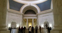 A handful of people gathered in the Upper Rotunda at the state capitol just before the session began Wednesday.