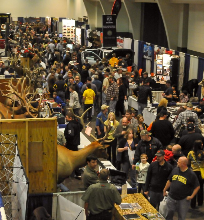 Wv metronews hunting and fishing show offers a good way for Hunting and fishing show