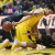 Nathan Adrian makes a steal against Baylor's Taurean Prince late in the first half of West Virginia's 80-69 win.