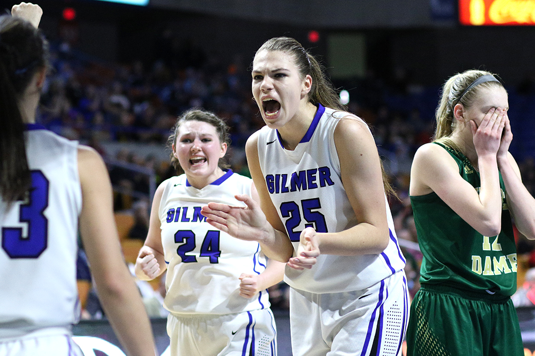 WVMetroNews - Gilmer County survives to title game as