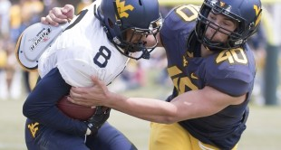 West Virginia played its 2016 Gold-Blue Game at The Greenbrier on Saturday in White Sulphur Springs, W.Va.