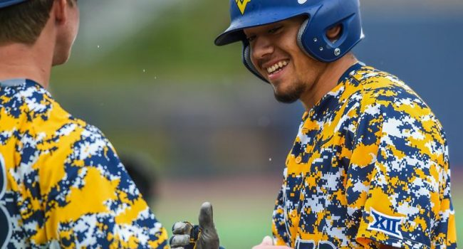 West Virginia dropped the first game of its Saturday doubleheader against Baylor 8-6 at Monongalia County Ballpark.