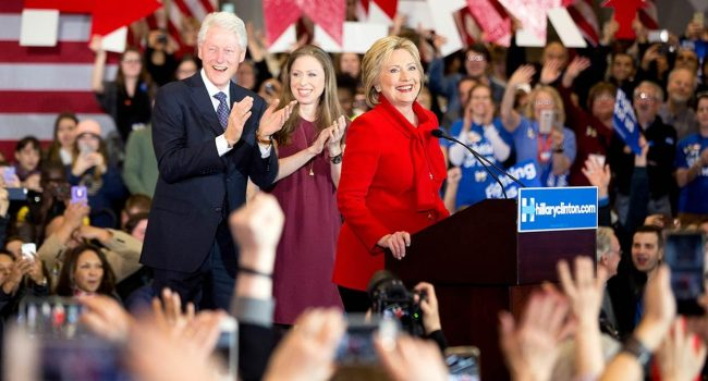Democratic presidential frontrunner Hillary Clinton and her husband, former president, Bill Clinton will be in WV several times through early next week.