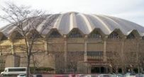 WVU Coliseum Outside