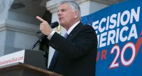 Franklin Graham will visit West Virginia Thursday, the 22nd stop of his 50 state tour
