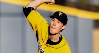 WVU pitcher Michael Grove gave up just a pair of runs in Thursday's road loss to Texas Tech.