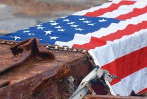 Artifacts from the World Trade Center following terrorist attacks will be displayed in Huntington.