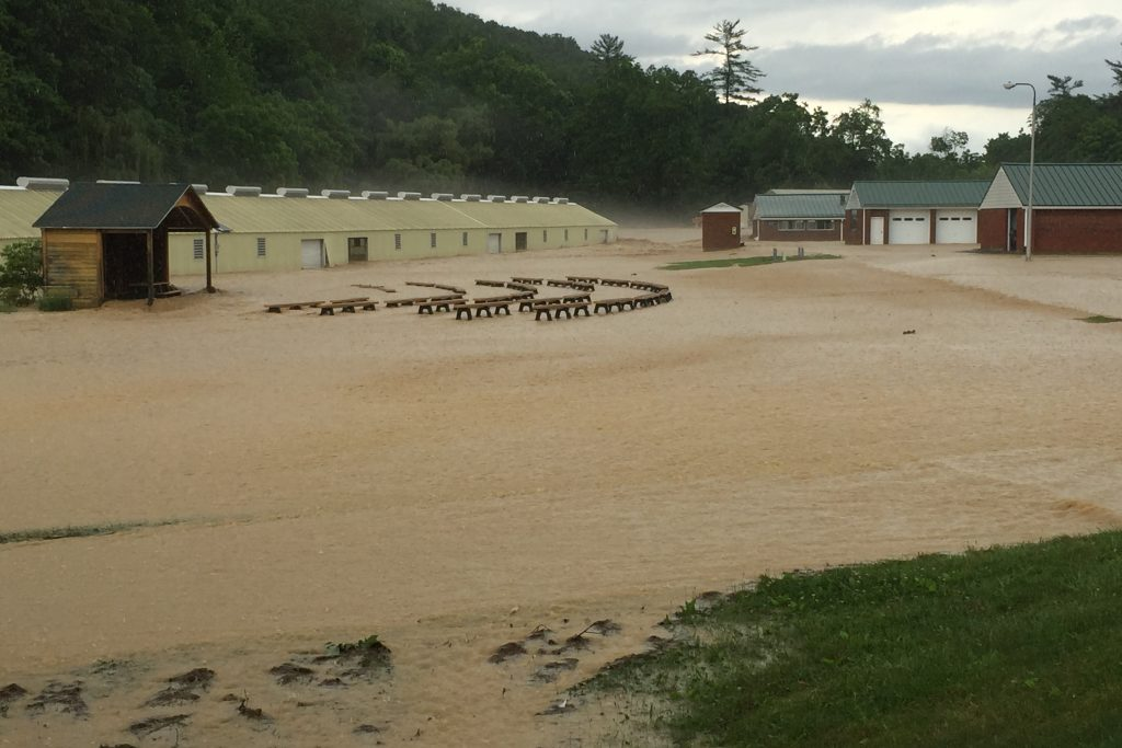wv metronews substantial damage at wss fish hatchery