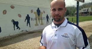 Former Magnolia football coach Josh Sims will serve as Morgantown's assistant head coach and quarterbacks' coach.