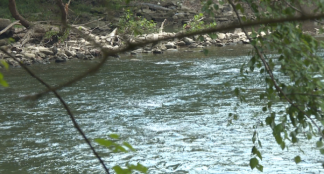 The boy's body was found in the Little Coal River near Alum Creek Monday evening.