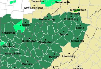 29 counties are under a flash flood watch until early Friday morning.