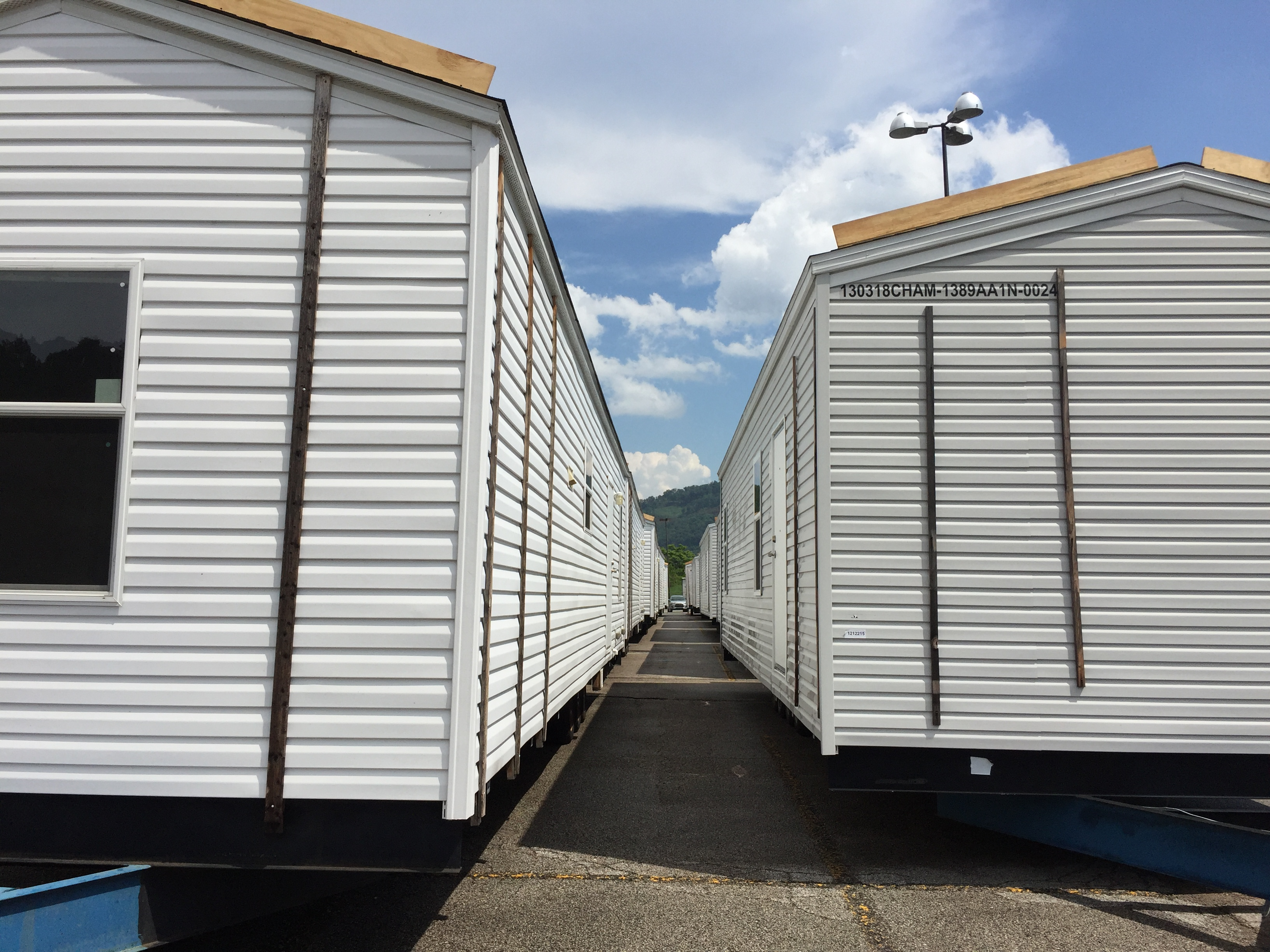 Wv metronews fema unveils last resort mobile home - How long do modular homes last ...