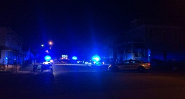 Police spent much of Friday morning at two separate crime scenes in Charleston
