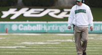 Marshall coach Doc Holliday has led the Herd to 33 combined wins over the last three seasons.