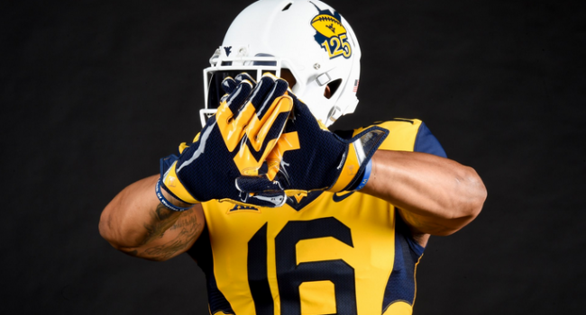 West Virginia will wear commemorative helmets against Missouri as the program begins its 125th year of football.