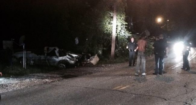 Charleston Police investigate after an early morning car explosion