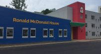 The new Ronald McDonald House sits right near the CAMC Women and Children's Hospital in Charleston.