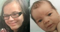 Katherine Derleth, 13, and her 18-day-old son, Christopher Derleth, were last seen Sunday until they were found by authorities Saturday in Kanawha County.