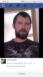 Police are looking for Christopher Derleth.